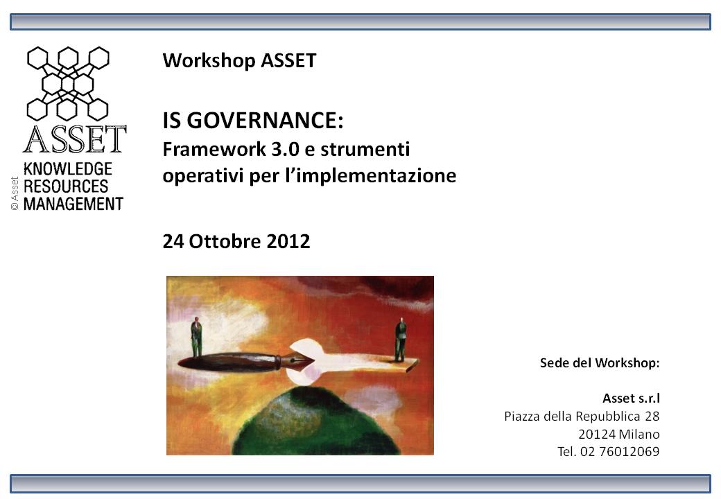 Workshop ISGF 3.0 2012